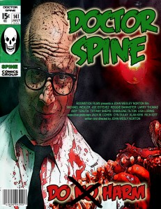 """DOCTOR SPINE""  poster"