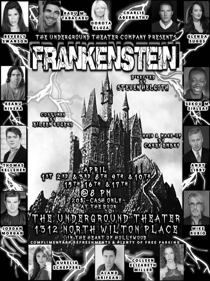 Frankenstein Flyer