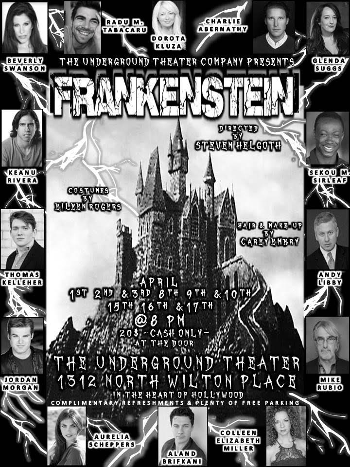 Frankenstein Flyer